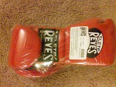 Sparring MMA Boxing UFC Cleto Reyes Professional Lace Up Training Gloves (Red) #CletoReyes