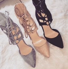 girl fashion outfit style clothes shoes high heels
