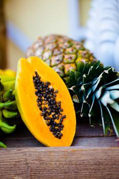 Papaya and Pineapple | Acqua Photo