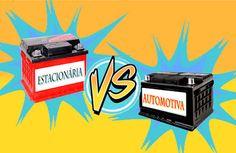 Curitiba Racks - Componentes e acessórios de informática: Baterias Automotivas X Baterias Estacionárias