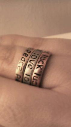 Luck. Love. Peace.