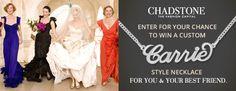 Win a custom designed Carrie-Style Necklace www.facebook.com.au/ChadstoneTheFashionCapital Your Best Friend, Best Friends, Carrie, Fashion Necklace, Carry On, Custom Design, Facebook, News, Style