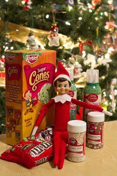 24 Days of Elf on the Shelf Ideas on the Sweet Shoppe Designs Blog