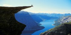 The Trolls Tongue, Odda, Norway