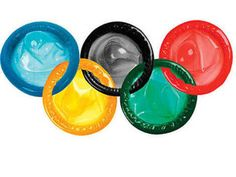 Durex's Olympic condoms (the company is handing out tens of thousands of 'em to Olympic athletes in London).
