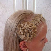 Little girls hairstyle .. She'd have to have pretty long hair