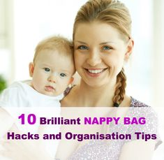 "Here are some super genius nappy bag hacks which will make your life just that little bit easier and have you thinking – ""why didn't I think of that""?"