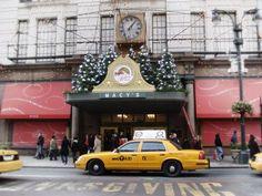 Macy's Yellow taxi