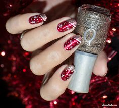 Nail Art Merry Christmas