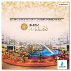 The #luxurious #weekend experience without par.  #RajhansBelliza #WeekendStudio #DumasRoad #Surat