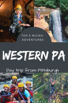 Searching for a wild and wonderful weekend adventure close to home?  Look no further.  I've compiled a list of the top 5 local adventures near Pittsburgh, PA.  These are the perfect, micro getaways sure to be enjoyed by fun-seekers and nature-lovers alike!  #pennsylvania #pittsburgh #localadventurer #travelguide #exploreyourstate #visitpa #usatravel #travelblog #adventuretravel #whattodo #outdooradventure #getoutside #getoutdoors #memorialday #summerfun #hikingtrails #naturelovers
