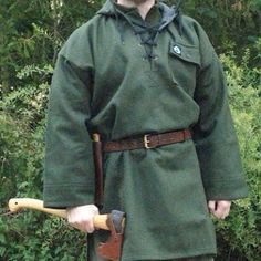 How to make your own Wool Anorak Sweater by Bushcraft UK…