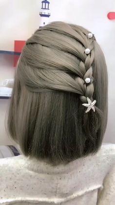 # types of Braids simple Hairstyle Tutorial 993 Girl Hairstyles, Braided Hairstyles, Wedding Hairstyles, Cabelo Rose Gold, Kim Hair, Natural Looking Wigs, Hair Upstyles, Hair Videos, Hair Looks