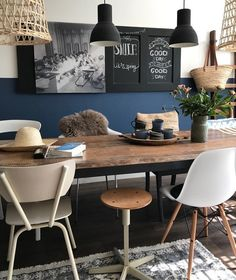 Apartment Kitchen Themes Decor Interior Design Ideas For 2019 Kitchen Decor Themes, Room Decor, Kitchen Ideas, Kitchen Modern, Dining Room Inspiration, Apartment Kitchen, Home And Deco, Dining Room Design, Dining Rooms