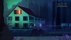 July's Eve by Marie Thorhauge, via Behance