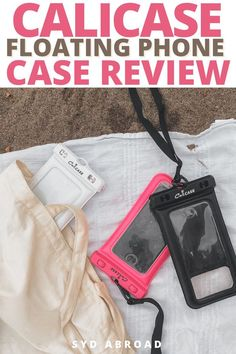This calicase phone pouch is AMAZING! the calicase review is filled with information, calicase discount code, calicase amazon, and everything you need to know about your new summer essentials… Carry On Bag Essentials, Travel Essentials For Women, Summer Essentials, Travel Checklist, Packing Tips For Travel, Travel Hacks, Travel Guides, Waterproof Phone, Travel Organization
