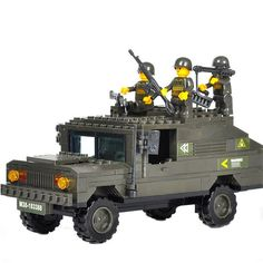 DIY Armored Vehicle (191pcs) //Price: $41.70 & FREE Shipping //     #Brickweapon #Toysforboys #Legoguns #Guns #Toys #Brickarms #Fun #Brickwarriors #Rifles #Shotguns #Gifts