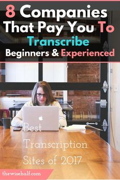 8 transcription companies that hire both beginners and experienced. Work from home Tired of waiting? Here's a list of websites and apps that will help you with your financial needs. These are jobs-that-pay-weekly , work at home, money making apps, part time jobs, work online, side jobs, make money from home, make money fast.