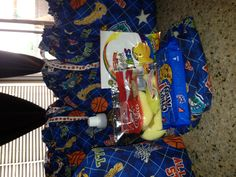 Basketball Team snacks.