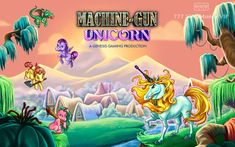 Have fun in the Machine Gun Unicorn- a featuring the cute little unicorns on its reels with a cool gameplay at Live Casino! Heavenly Places, Little Unicorn, Live Casino, Slot Machine, Have Fun, Guns, Hilarious, Adventure, Unicorns