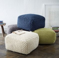 The Pouf Ottoman: A great accent to in any room | The TOTEFISH Blog