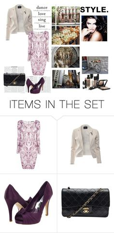 classic chanel bag by maczkoeva on Polyvore featuring art and classic chanel bag