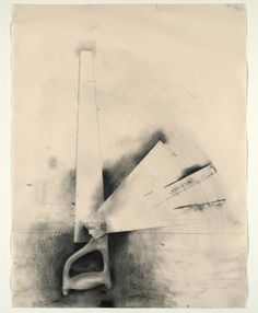 Jim Dine - Untitled (Five-bladed Saw) from Untitled Tool Series