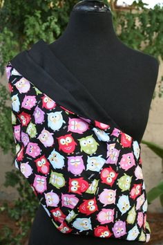 Hey, I found this really awesome Etsy listing at http://www.etsy.com/listing/86255111/baby-sling-baby-carrier-owls-on-black