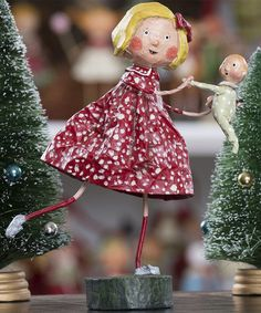 Dancing With Baby Figurine