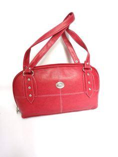 RED PRINCE HANDBAG SB305  for more details visit www.streetbazaar.in #style #trendy #cool #red #prince #handbag