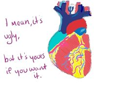 #lol #humor #funny heart quote