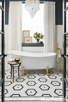 45 Eye-Catching Bathroom Tile Ideas