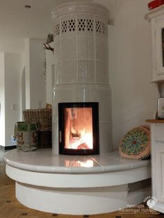 Cute Apartment, Stone Masonry, Stove Fireplace, Outdoor Cooking, Vintage Kitchen, Hearth, Design Trends, Sweet Home, Lounge