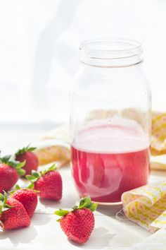 Rhubarb Syrup | Baking a Moment
