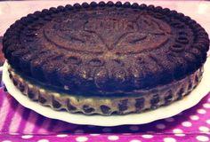 Cocina fácil y saludable Tarta de oreo  Oreo cake fitness