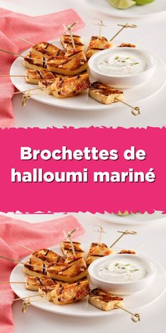 Halloumi, Tapas, Hors D'oeuvres, Cheese Recipes, Starters, Fondant, Buffet, Cereal, Breakfast