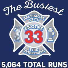 Baltimore City Fire Dept. Engine 33