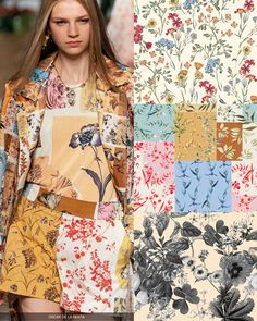 Patternbank brings you our in-depth catwalk report, highlighting the key Spring/Summer 2020 Print and Pattern trends from the latest New York, London, Paris and Milan Catwalk and Runway shows. Spring Summer Trends, Spring Fashion Trends, Fashion Forecasting, Summer Prints, Catwalks, Print Patterns, Floral Patterns, Pattern Print, Color Trends