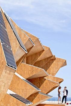 Endesa Solar Pavilion, Barcelona, Spain | See More Pictures