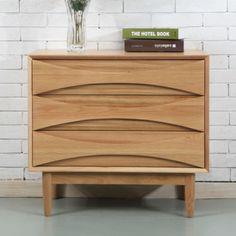 Arne-Vodder-Style-3-Drawer-Cabinet-Solid-American-Oak-80x45x72cm-Replica