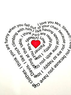 valentine poems child parent