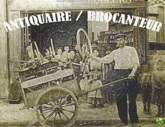 French BROCANTEUR / ANTIQUAIRE #french #stuff