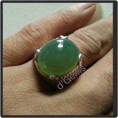Green Chrysoprase / Garut Hijau Kristal