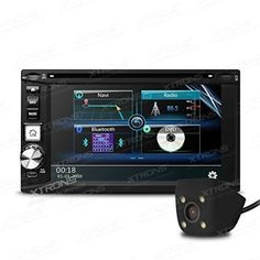 """XTRONS® 2 Din 6.2"""" In-Dash HD Touch Screen Car Stereo USB SD DVD Player Double Din GPS Navigation Radio Bluetooth Reversing Camera Included - For Sale Check more at http://shipperscentral.com/wp/product/xtrons-2-din-6-2-in-dash-hd-touch-screen-car-stereo-usb-sd-dvd-player-double-din-gps-navigation-radio-bluetooth-reversing-camera-included-for-sale/"""