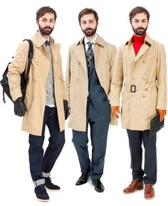 #suits #shoes #tie #trench #gloves #Burberry #Gant #PaulSmith #RalphLauren #H #Trickers #PropertyOf