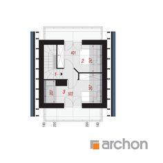 Projekt domu Dom w krokusach (A) - ARCHON+ Floor Plans, Floor Plan Drawing, House Floor Plans