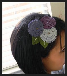 I'm a huge headband girl. I love them, and am always looking for interesting ones to wear or make. This would be a perfect project.