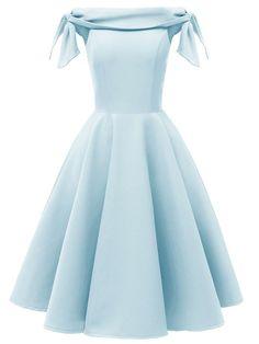 Blue Graduation Dresses, Cute Prom Dresses, Dance Dresses, Pretty Dresses, Beautiful Dresses, Simple Short Dresses, Vintage Homecoming Dresses, Dresses Dresses, Dresses For Teens