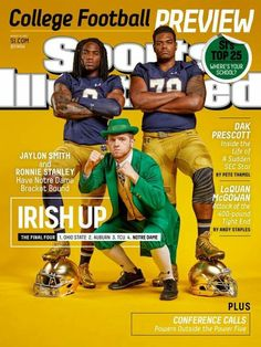 Sports Magazine Covers: Jaylon Smith and Ronnie Stanley