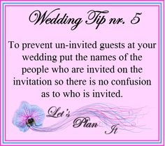 Planning a wedding should be enjoyable, and that is the aim of this site - to save you time (and frustration) by giving you everything you need in one place to plan not only a wedding but any event in an easy and convenient way. Plan My Wedding, Wedding Tips, Destination Wedding, Wedding Planning, First Boyfriend, Walking Down The Aisle, Wedding Website, Perfect Wedding, Save Yourself